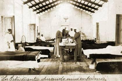 Los lazaretos, como el de la isla Beldevere, tenían el fin de resguardar en cuarentena a los enfermos (Foto: gobierno de Mazatlán)
