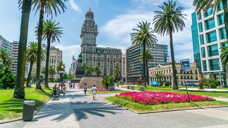 Una soleada tarde en Montevideo, Uruguay (Shutterstock)