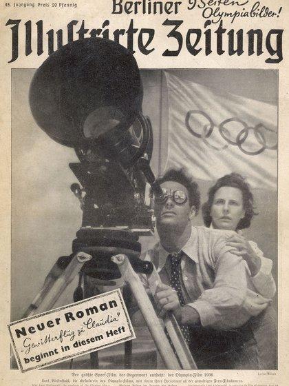 La cineasta alemán Leni Riefenstahl fue la encargada de filmar el relevo de la antorcha y realizar una película para Hitler (Shutterstock)