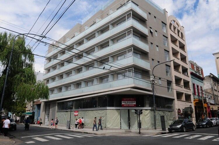 Abasto, el hotel Arc, recientemente inaugurado, donde fueron localizados los iraníes que ingresaron a Argentina con pasaportes falsos (Maximiliano Luna)