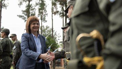 Patricia Bullrich, ministra de Seguridad, fue evaluada por Macri como compañera de fórmula presidencial (Adrián Escandar)