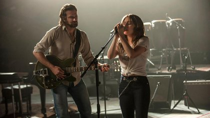 "Escena de ""A star is born"""