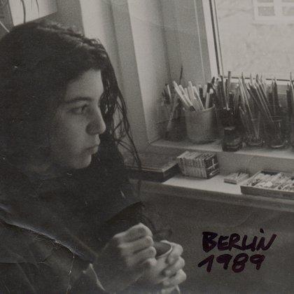 Liliana Villanueva en 1989. Foto de su amigo de Berlín Este, Friedhelm Sprenger