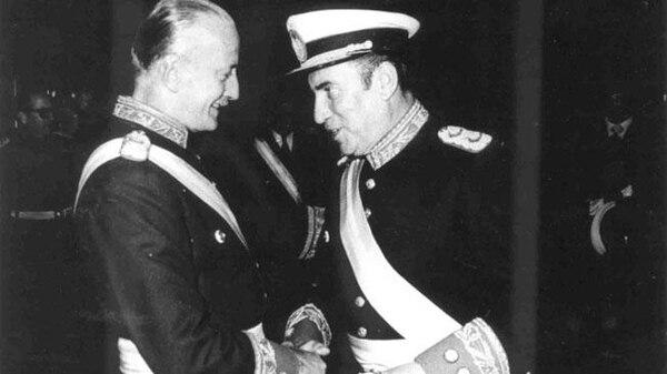 Acdel Vilas y Domingo Bussi