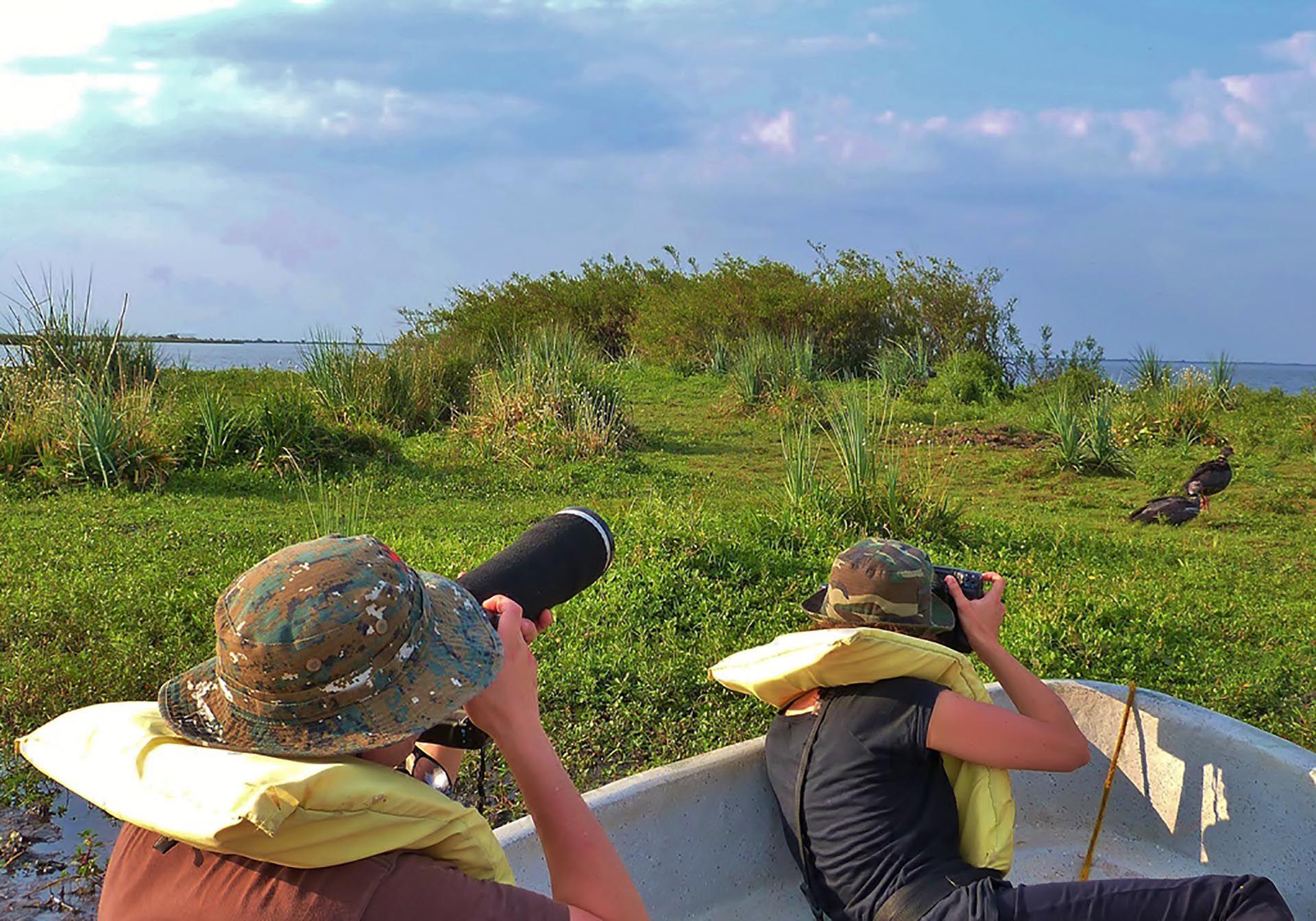 Los turistas pueden disfrutar de la flora y fauna del Parque Nacional Iberá