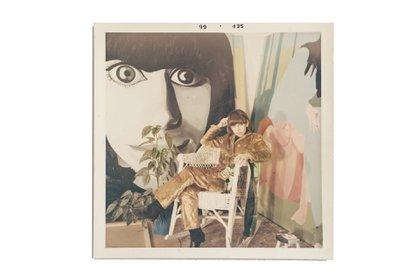 Delia Cancela en su taller (1966)