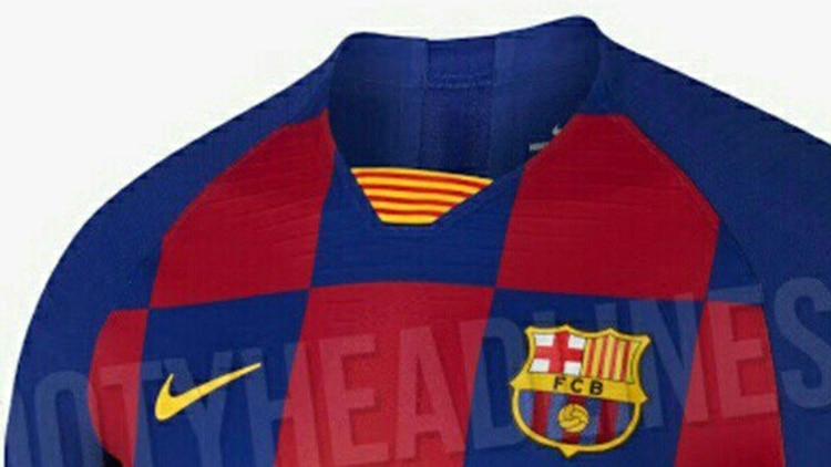 2842c20cc El diseño de la futura camiseta del FC Barcelona ha salido a la luz en las