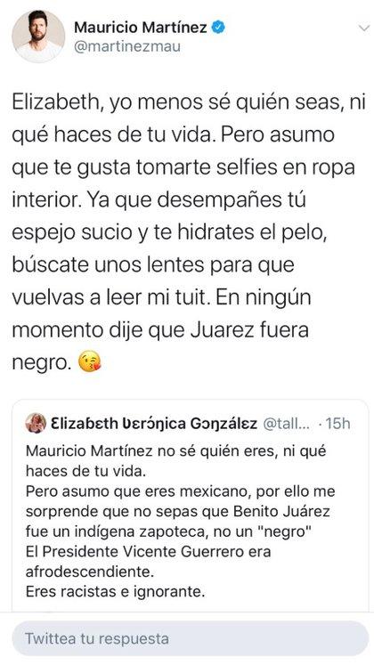 La forma de expresarse de Martínez fue calificada como displicente y soberbia (Foto: Twitter)