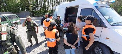 Operativo de gendarmes y policías. Un desafío que involucra a fuerzas nacionales, de la Ciudad y la provincia de Buenos Aires