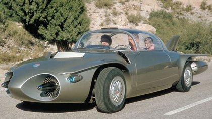 En 1956 General Motors presentó el Firebird II, que intentaba adelantarse 30 años.