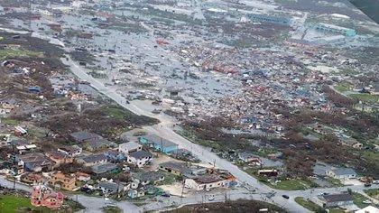 El primer ministro de Bahamas, Hubert Minnis, informó que la cifra de muertos a causa del paso del huracán Dorian por el archipiélago aumentó a 7 (AFP)