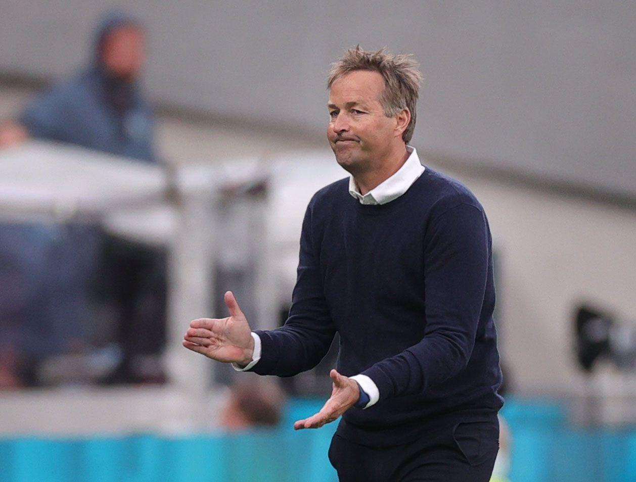 Kasper Hjulmand, entrenador de Dinamarca (Reuters)