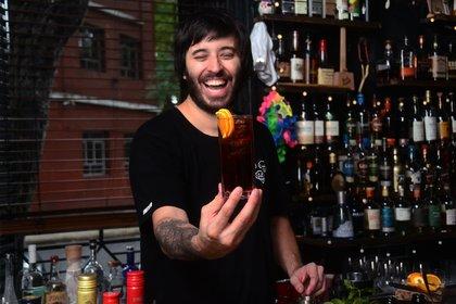 Sebastián Atienza nunca imaginó cuando arrancó con la coctelería que sería parte del casamiento del mejor jugador del mundo