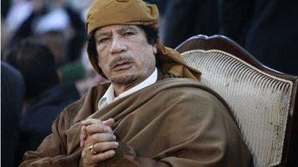 El fallecido dictador libio, Muammar Gaddafi (Reuters)