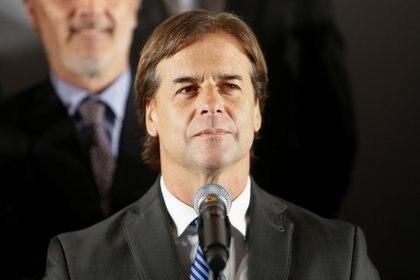 """El presidente electo de Uruguay, Luis Lacalle Pou, propuso al secretario de Estado de EE.UU., Mike Pompeo, iniciar negociaciones para un Tratado de Libre Comercio, """"ya sea bilateral o vía Mercosur"""""""