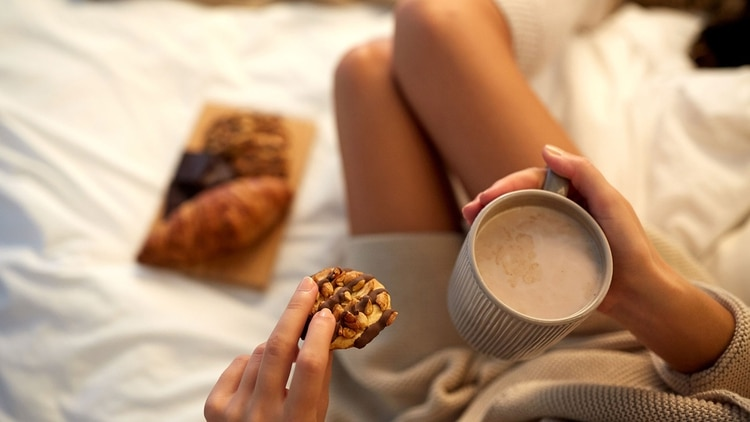 Los chocolates e infusiones calientes, otro clásico del invierno (Shutterstock)
