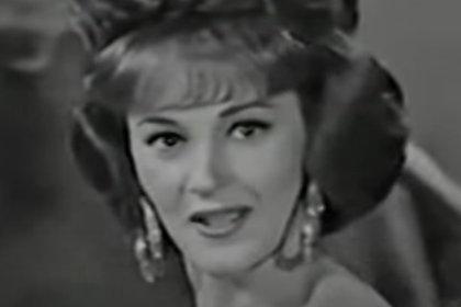 Angelita Castany inició su carrera en México en los años 60 (Captura de pantalla)