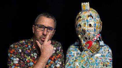 """Los dueños de """"Tintín"""" y una nueva demanda: ahora reclaman USD 240 mil a un escultor y a una galería"""