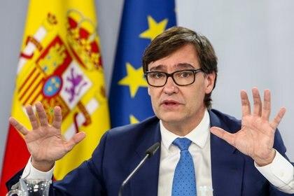 El ministro de Sanidad, Salvador Illa (Europa Press)