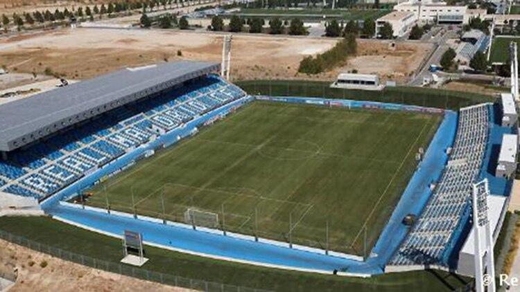 El estadio Alfredo di Stéfano, en la Ciudad Deportiva de Valdebebas (@RealMadridXtra)
