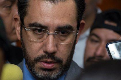 Jesús Orta Martínez presentó su renuncia como secretario de Seguridad de la Ciudad de México. (Foto: Cuartoscuro)