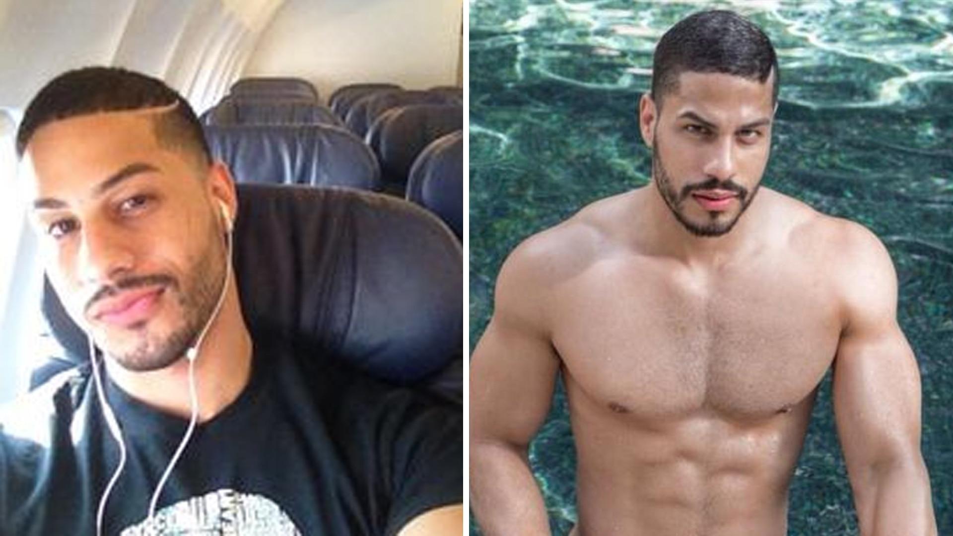 Actor Porno Alejandro actor porno gay terminó detenido por agredir a su novio por