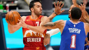 La NBA eligió una asistencia de Facundo Campazzo como la mejor de la temporada regular