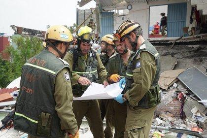 La unidad de rescate envió una delegación a México tras el terremoto de 2017 (FDI)