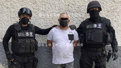 """Detuvieron a """"El Garrafón"""", presunto jefe de plaza del Cártel de Tláhuac"""
