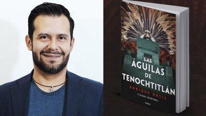 """El escritor Enrique Ortíz revive en su novela de época """"Las Águilas de Tenochtitlan"""" cómo vivían los antiguos mexicas, en qué creían, cómo se comportaban, todo en base a las crónicas históricas y códices hallados Foto: @Cuauhtemoc_1521 / Twitter."""