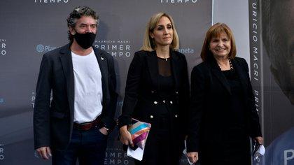 Maximiliano Guerra, junto a Patricia Bullrich