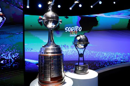 Se viene el sorteo de las copas (EFE/Nathalia Aguilar).