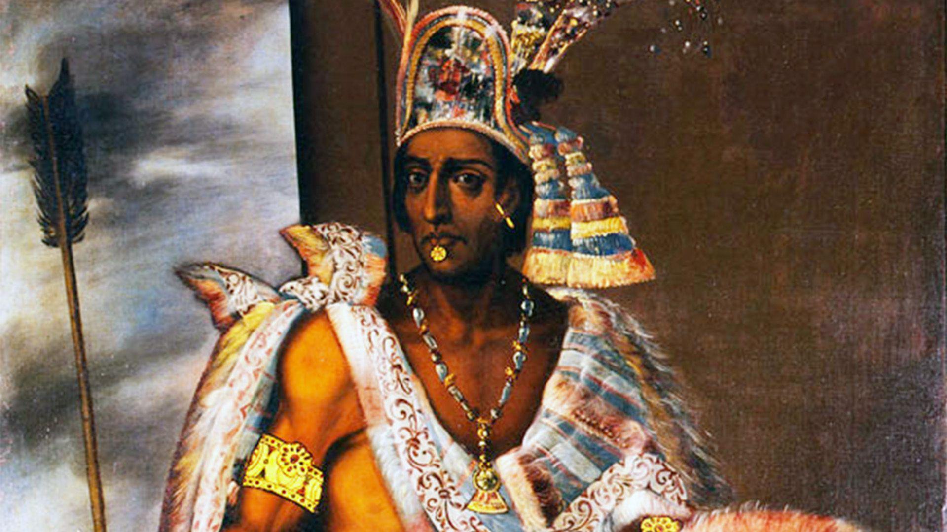 Moctezuma II (Foto: INAH)