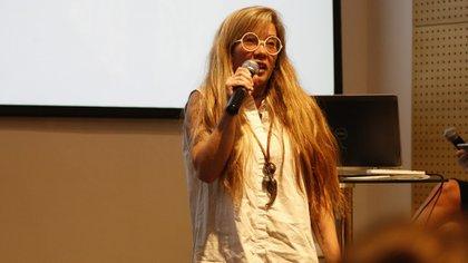 Agurtzane Urrutia, diseñadora de páginas web(Nicolás Aboaf)