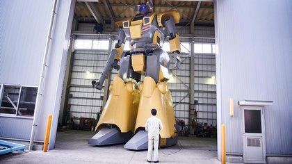 Mononofu, el humanoide diseñado por Masaaki Nagumo.