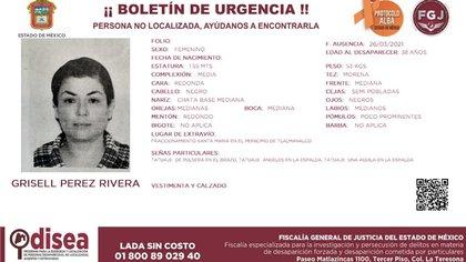 Amnistía Internacional urge a México a buscar a Grisell Pérez Rivera, defensora de DDHH