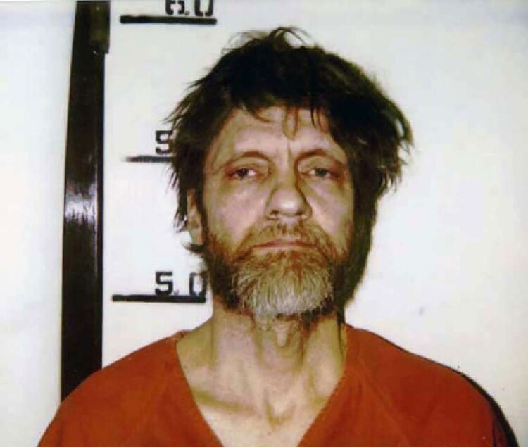 "John Kacynski ""The Unabomber)"" (Foto: Archivo)"
