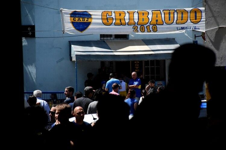 Christian Gribaudo es el candidato del oficialismo