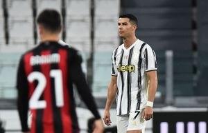 """""""El partido más decepcionante"""": furiosa crítica contra Cristiano Ronaldo tras la goleada del Milan ante la Juventus"""