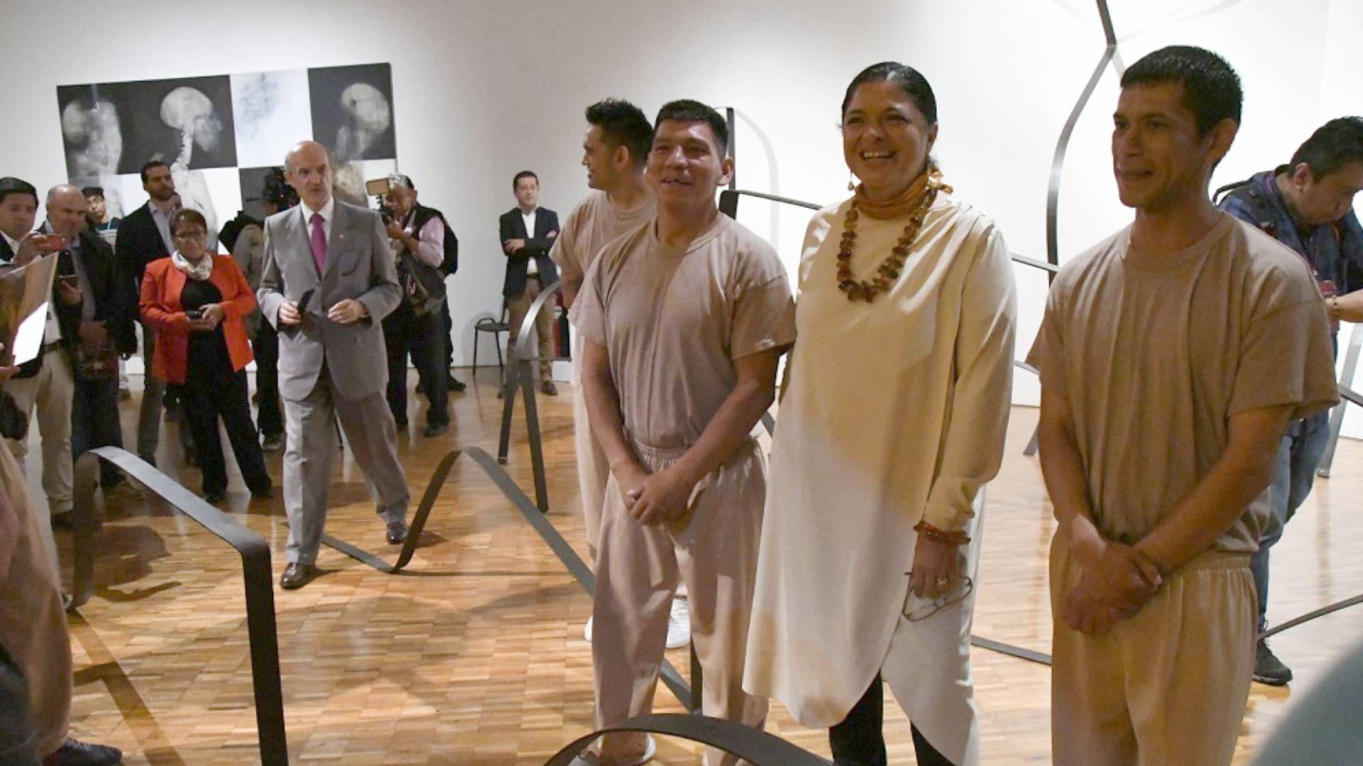 Los internos fueron custodiados, pero se les permitió expresarse y disfrutar (Foto: Francisco Segura/ Conaculta)