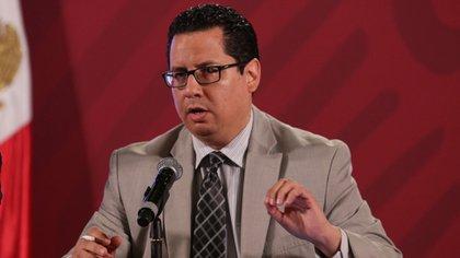 Dr. José Luis Alomía Zegarra informó del avance del COVID-19 en México (Foto: Cuartoscuro)