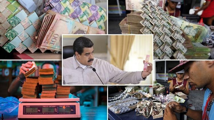 Nicolás Maduro, sin respuestas ante una escalada inflacionaria sin precedentes.