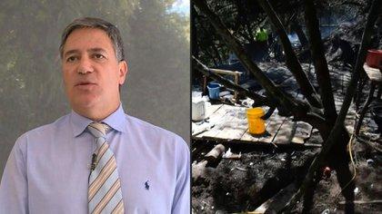 La policía encontró y destruyó un laboratorio capaz de producir una tonelada de cocaína al mes en una finca de la familia del embajador de Colombia en Uruguay, Fernando Sanclemente, ubicada a unos 60 kilómetros de Bogotá, según una fuente oficial.