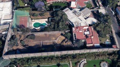 La propiedad está ubicada en Jardines del Pedregal, Ciudad de México (Foto: Google Maps)