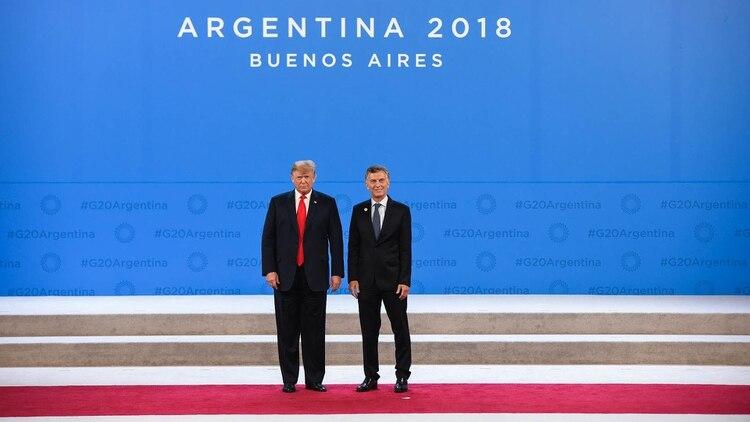 Macri y Trump, durante el G20 en Argentina: ahora se verán de nuevo en Osaka (Japón) (Manuel Cortina)