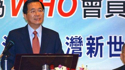 Chen Shui-bian, presidente de Taiwán entre 2000 y 2008