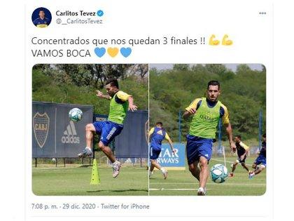 El mensaje de Tevez que ilusiona a los hinchas de Boca