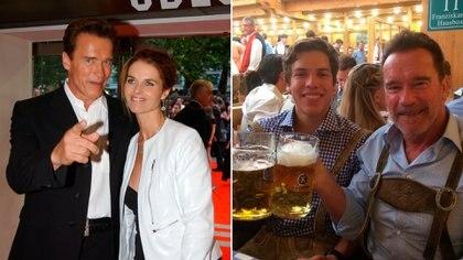 Arnold Schwarzenegger le fue infiel a Maria Schiver con la empleada doméstica. Fruto de esa relación extramatrimonial el actor fue padre de Joseph Baena, con quien mantiene una relación muy cercana (Shutterstock)
