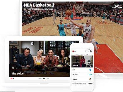 YouTube TV estará disponible solo en ciertos mercados en los próximos meses, por lo que aún no hay planes de expandir el servicio a México y el resto de América Latina