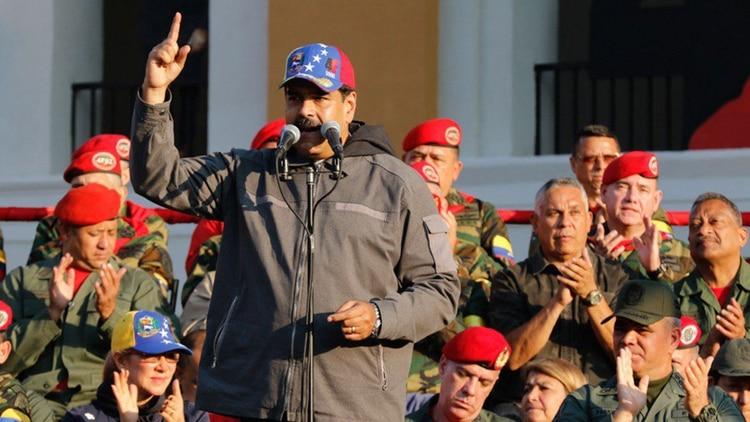 Maduro ha pedido la lealtad al Ejército de Venezuela
